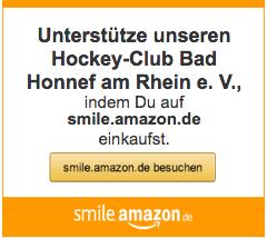 Unterstütze unseren Hockey-Club, indem Du auf smile.amazon.de einkaufst